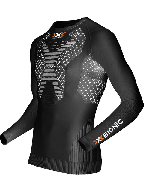 X-Bionic Running Twycec AW17-18 LS Shirt Men Black/White